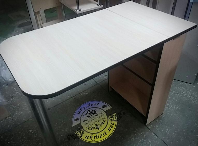 """Складной небольшой стол для мастера маникюра на дому или дополнительное рабочее место для маникюрного салона. Недорогой складывающийся компактный столик Макси - по цене производителя в Украине. В магазине мебели """"UkrBest"""" в наличие разные цвета маникюрных столов."""