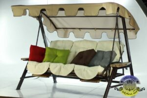 Купить садовые качели Техас Люкс с доставкой по Украине - выбор цвета в интернет-магазине мебели УкрБест