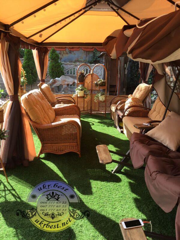 Качели Texas Luxe и другая мебель для сада, дачи, двора загородного дома - фото UkrBest