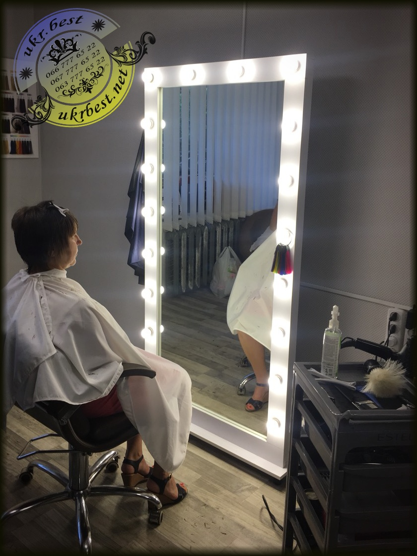 Напольное зеркало в полный рост - мебель для салона красоты - UkrBest