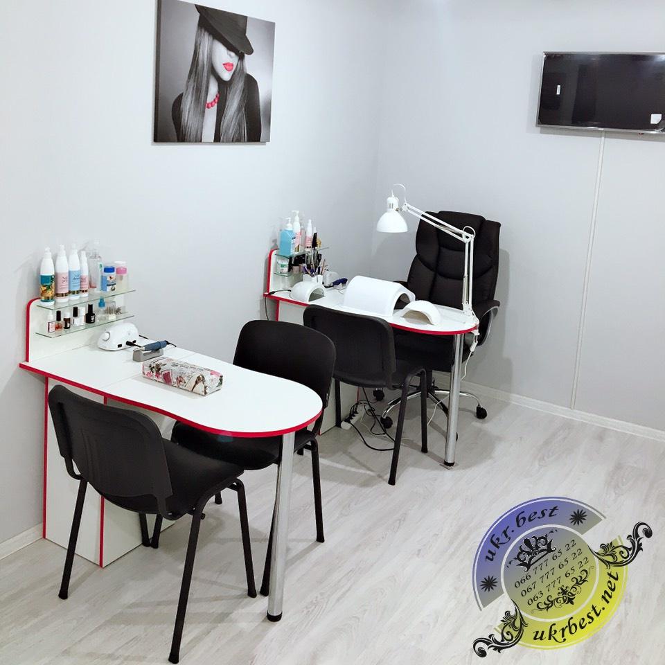 Маникюрные столы UkrBest - купить мебель для салона.