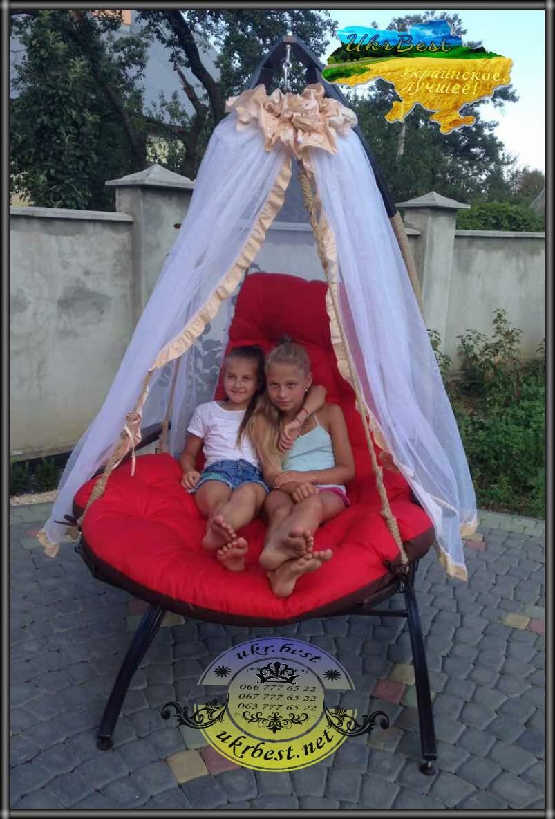 Садовые качели Эго - подвесное кресло-кровать от UkrBest
