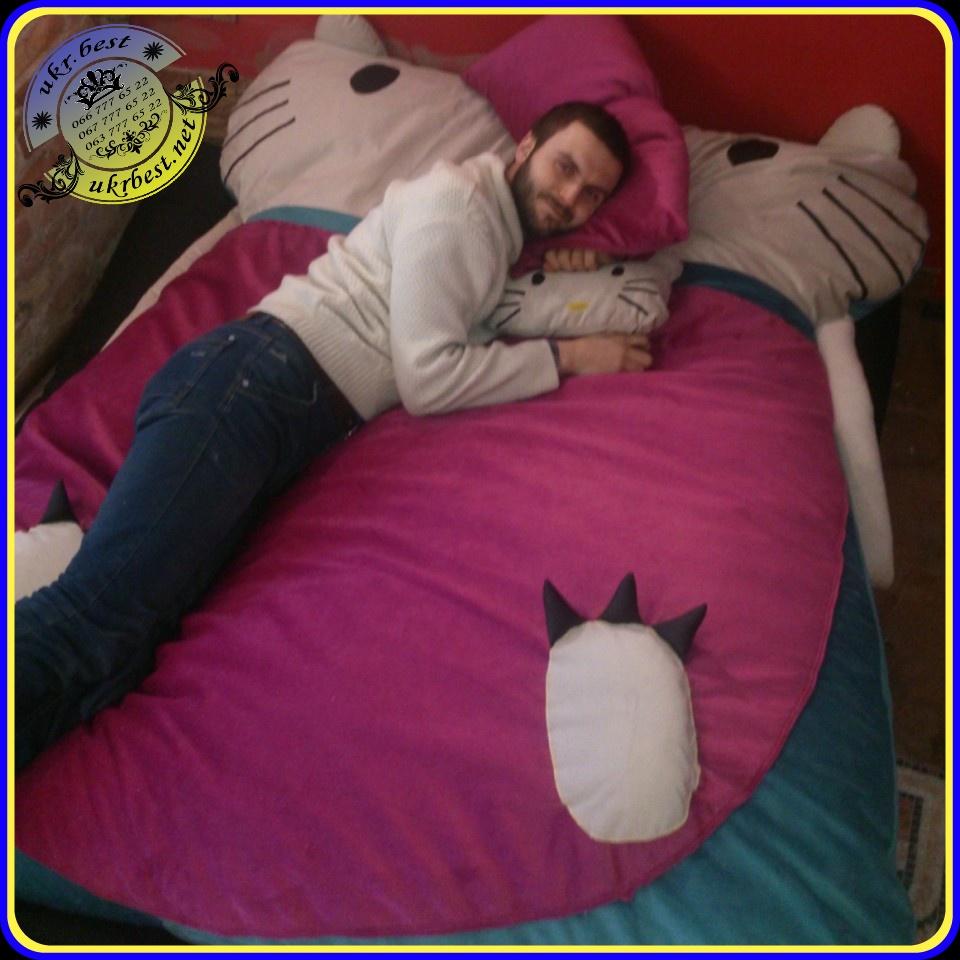 Кровать Hello Kitty - мягкая мебель в Украине от производителя UkrBest