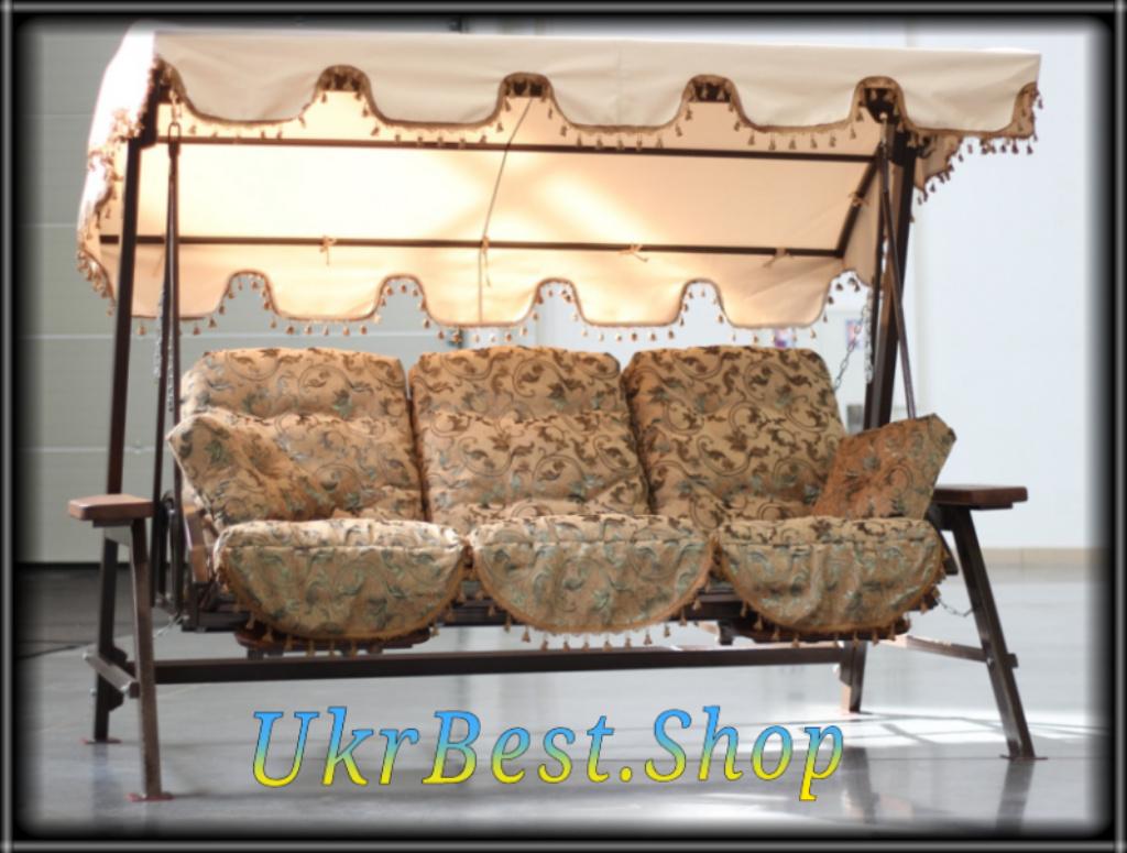 Садовые качели Техас Люкс - элитная мебель с пожизненной гарантией качества в Украине
