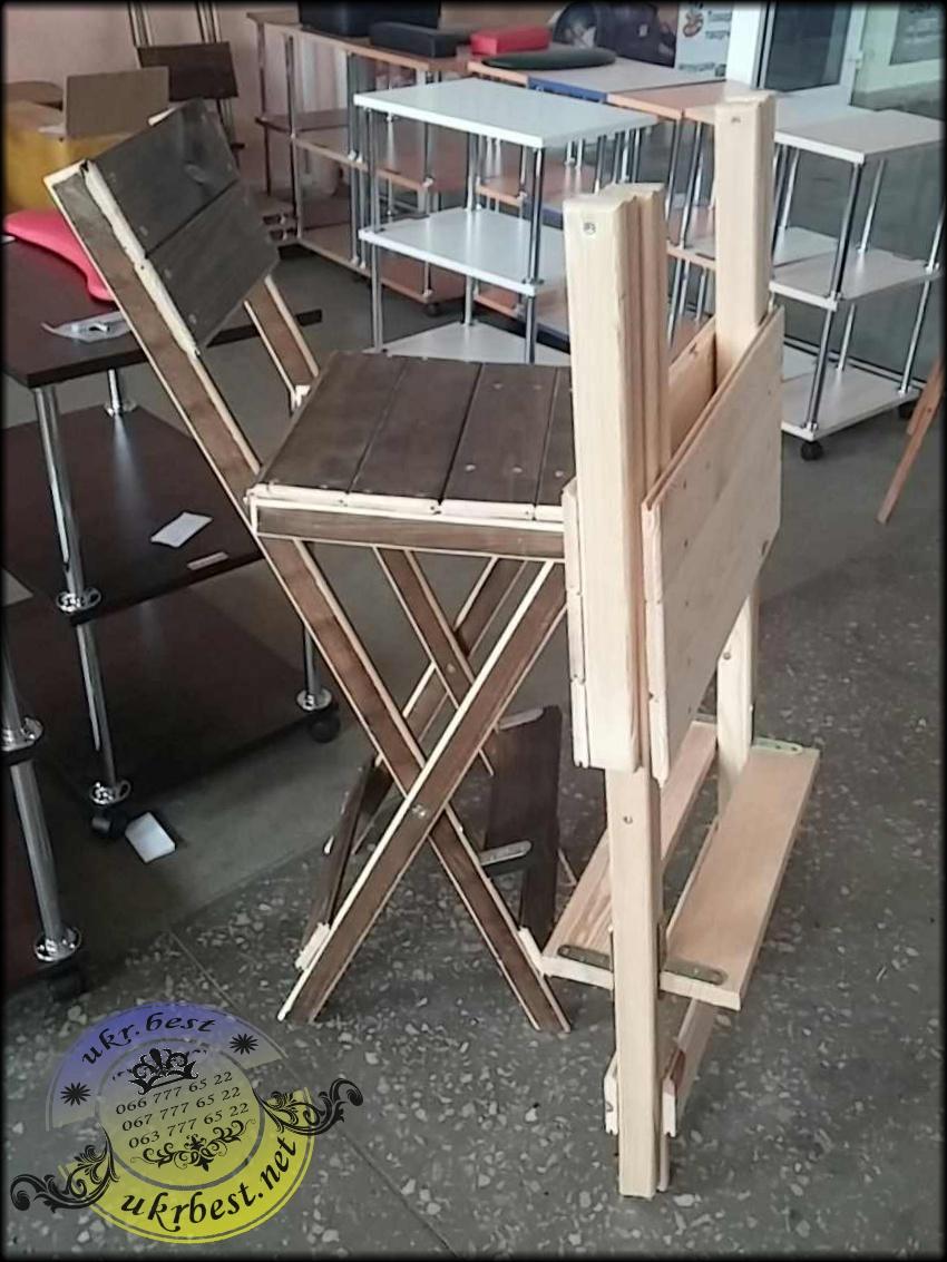 Заказать складывающийся стул для мастера красоты в Украине