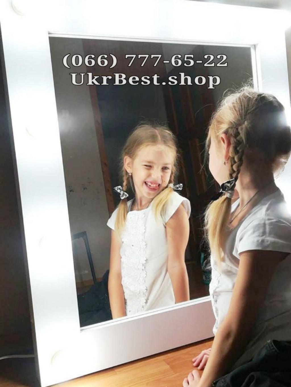 Заказать недорого гримерное зеркало с лампочками в Украине