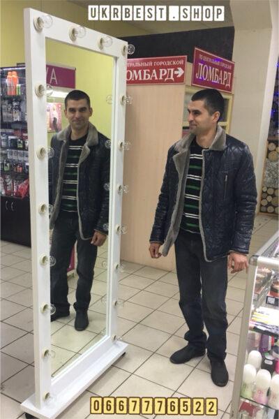 Купить ростовое зеркало с подсветкой по цене производителя в Украине.