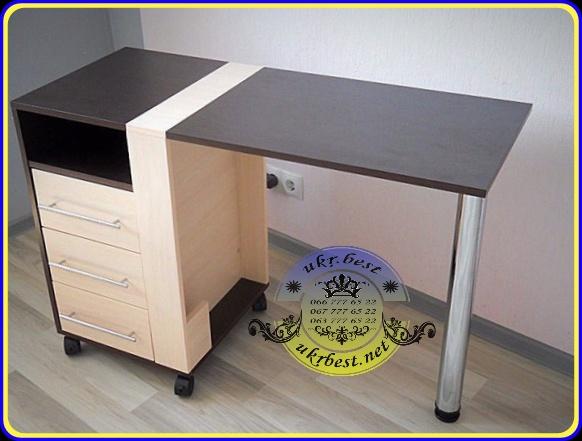 Заказать складывающийся маникюрный стол в Украине недорого - мебель UkrBest