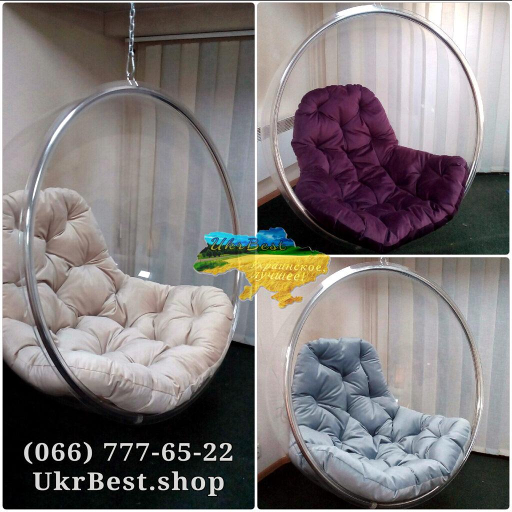 Ассортимент цветов подушки на кресло из акрила укрбест